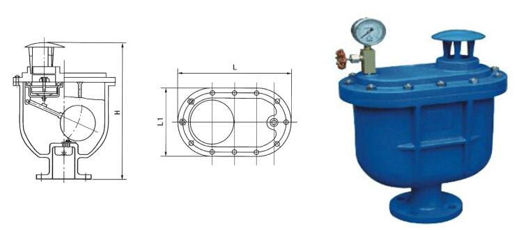 carx 复合式排气阀图片